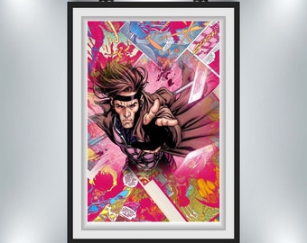 Gambit Poster 11x17 or 24x38