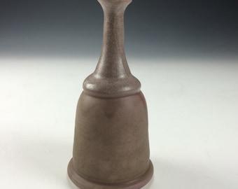 Rustic Matt Pink Small Ceramic Vase, Modern Home Decor, Unique Drips Vessel, Tiny Clay Bud Vase, Miniature Artwork