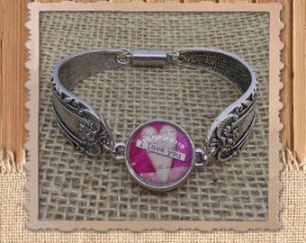 Spoon Bracelet with removable snap