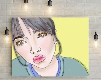 customized portrait art