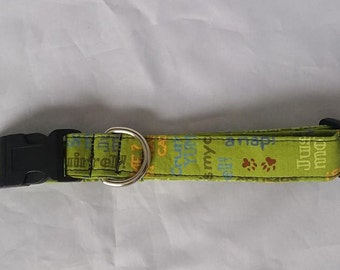 Adjustable Fabric Dog Collar