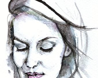 Watercoloured Portraits