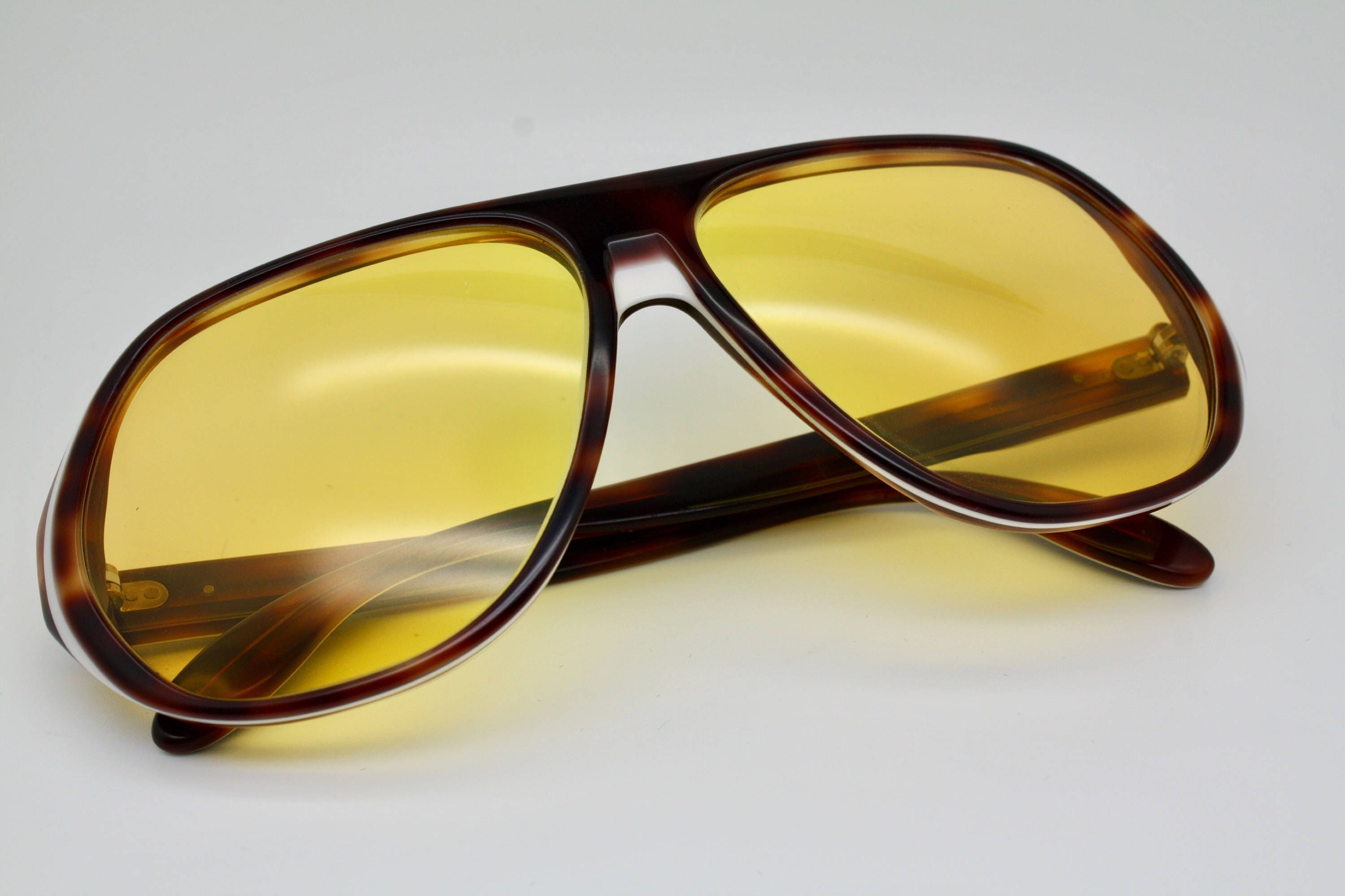70er Jahre Vintage Bausch & Lomb Ray-Ban Blazer Ambermatic