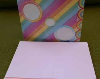 Fill in Your Own Rainbow Card