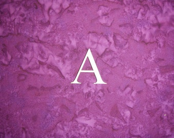 """Greek Letter Alpha A Symbol Unfinished Wooden Small Letters 1.5"""" Inch Tall 3 Pieces"""