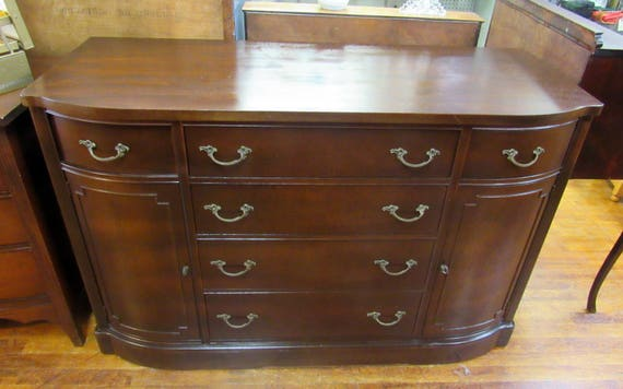Mahogany buffet or television stand media center