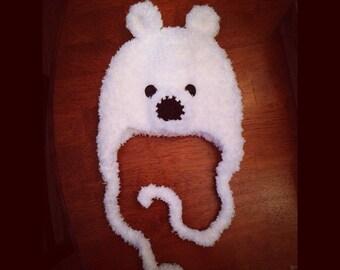Newborn Polar Bear Hat