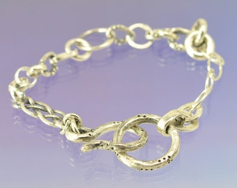 Wabi Sabi Rustic Handmade Bracelet