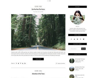 Blogger Template - Responsive Template - Slide Show - Photography Blogspot Theme