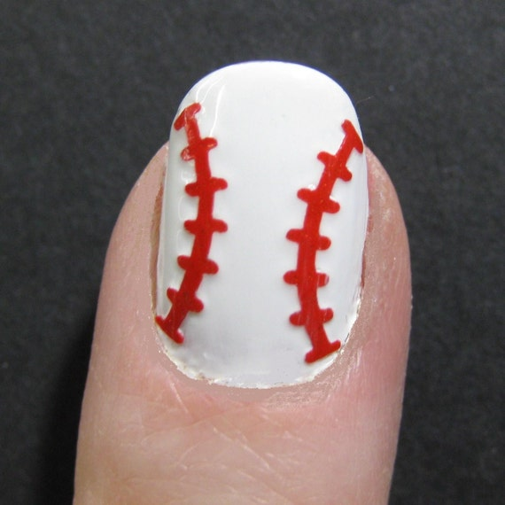 Like this item? - Baseball / Softball Toe Nail / Finger Nail Art / Tattoos /