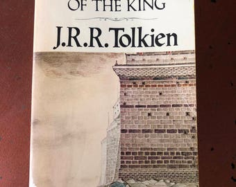 The Return of the King by J.R.R. Tolkien - Vintage Fantasy Book - 1978