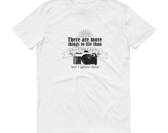 Photographer T-Shirt/Photographer Gift/Camera Shirt