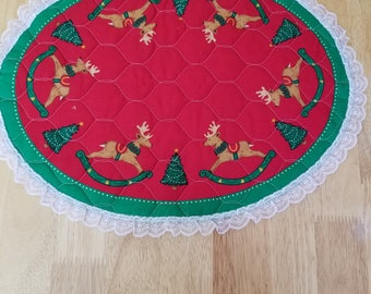 Christmas Placemats, Set of 6