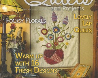 Primitive Quilts and Projects - Spring 2018 Issue - NEW!!