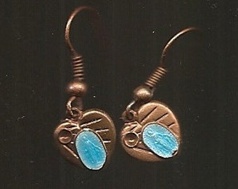 Old VINTAGE EARRINGS PIERCED