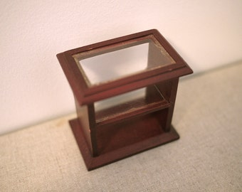 Dollhouse coffee table living room table 1 12th scale miniature coffee table