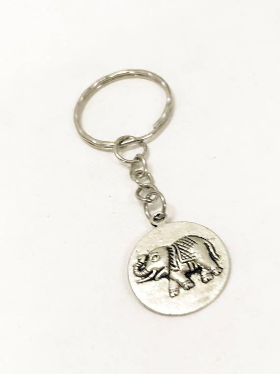 Elephant Keychain, Elephant Gifts, Good Luck Elephant, Good Luck Gifts, Good Luck Keychain, Keychain Gifts, Elephant Charm, Good Luck Symbol
