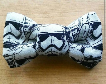 Stormtrooper Inspired Clip On Bowtie
