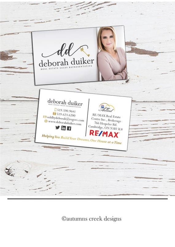 Business card design add on real estate business card agent reheart Choice Image