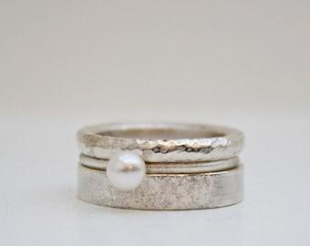 RING.Set in Silber