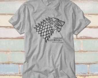Winter is coming shirt ~ house stark shirt ~ game of thrones shirt t-shirt el