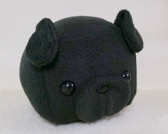 Black Pug- Ready to Ship - Medium