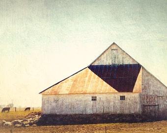 Country Barn II - 5x5 Fine Art Photograph