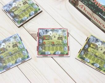 Village board game player board