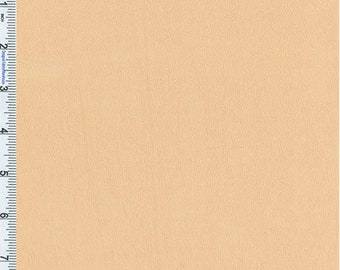Peach Beige Crepe Weave Rayon, Fabric By The Yard