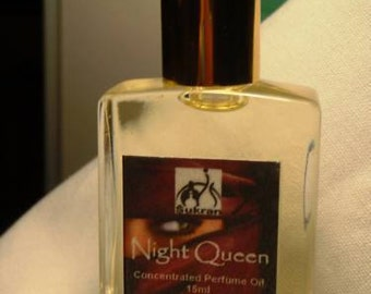 NIGHT QUEEN Concentrated Perfume Oil Attar -15ml - Deliciously complex and masterful floriental fragrance