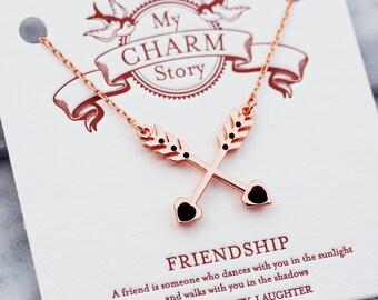 bestfriend necklace | best friend necklace | friendship necklace | friendship necklaces | bff necklace | friendship jewelry |RG