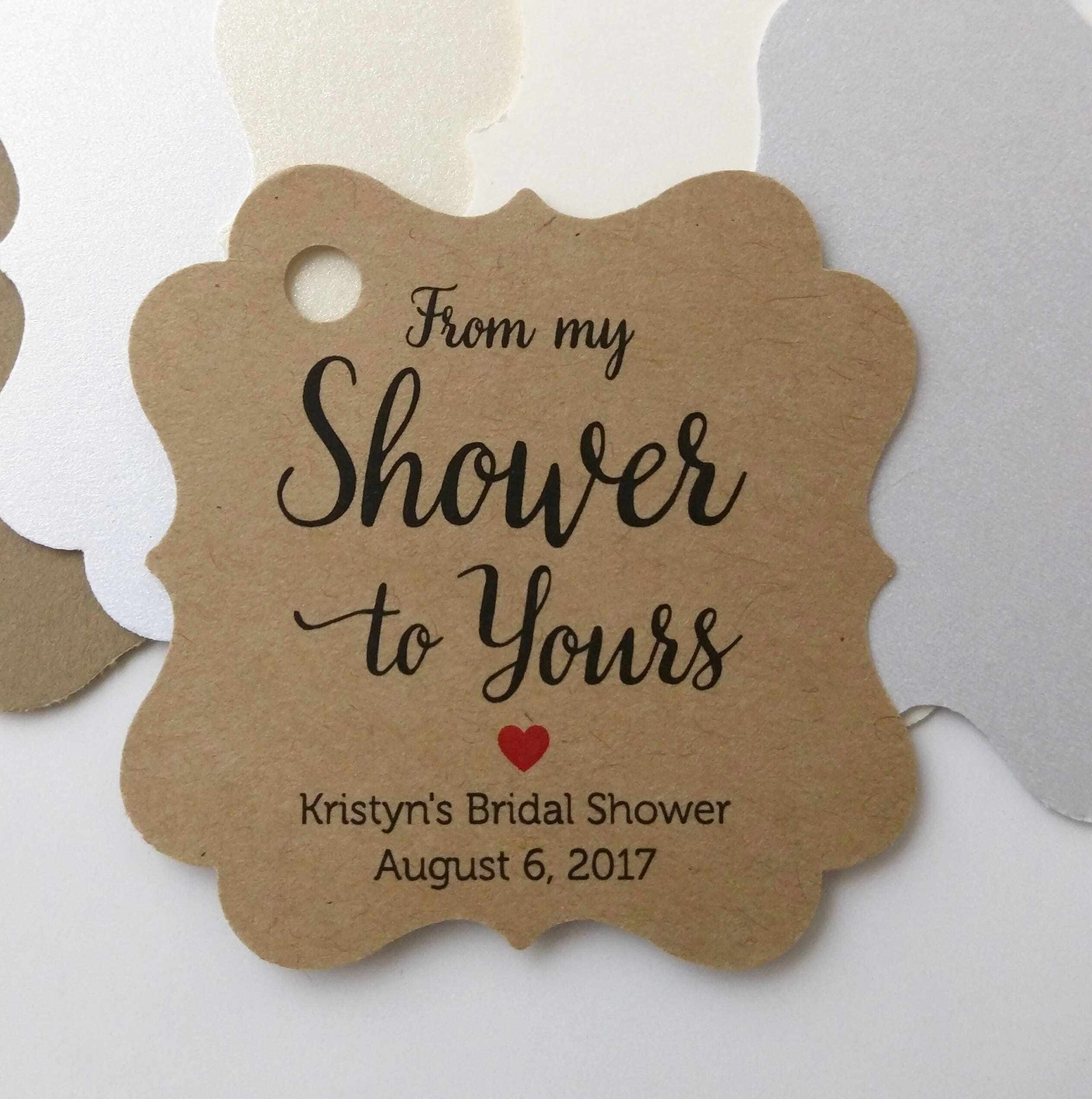 from my shower to yours tags favor tag bridal shower tags gift tags baby shower tags bride to be wedding shower baby shower favor tag