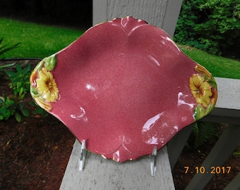 Vintage Royal Winton Petunia Fruit Tray - 1930's - from DustyMillerAntiques