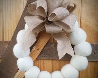 Wool Wreath