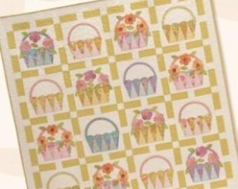 PATTERN SUNNY DAYS May Basket Quilt   We combine shipping
