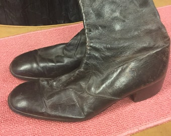 Size 9 Ankle Disco Boots