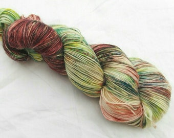 Hand dyed yarn sock 4-ply Jardina