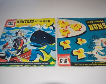 Choose One: Hunters of the Sea or Hot Cross Buns by CRG 78 RPM Record Albums