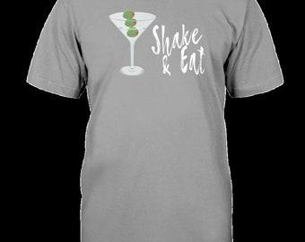 Dirty Martini Olives Shirt Funny Drinking Birthday Gift