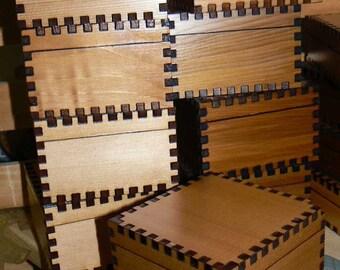 Ready to Engrave 3x3 Cedar Box