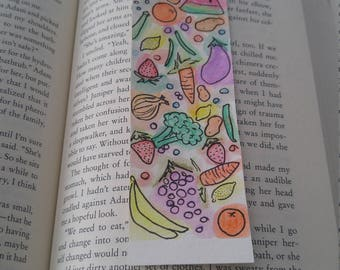 Fruit and Vegetable Bookmark