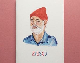 Steve Zissou A5 Notebook