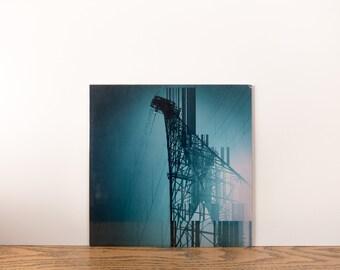 Print digital paper metallic Urban Glitch #4 Mobile Art photographic print