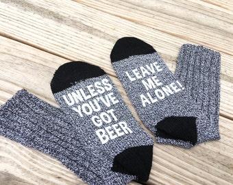 Funny Socks, Beer Socks, If you can read this socks, Gifts for Mom, Stocking Stuffer, Gift for Her, Womens Socks, Gag Gift, Under 10, RG121W