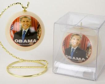 Obama, Patriotic, Obama Picture, President Obama, Photo Ornament, I Miss Barack, Michelle Obama, Obama Figure, Obama Forever, President, USA