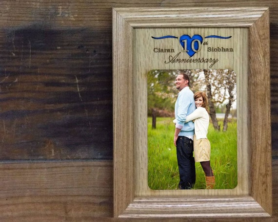 60th Anniversary Photo Frame, 60th Wedding Anniversary Gift, 60 ...