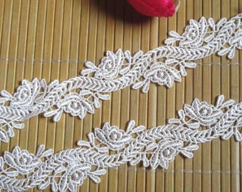 1 inch wide white trim price for 1 yard