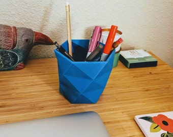 Geometric Desk Organizer