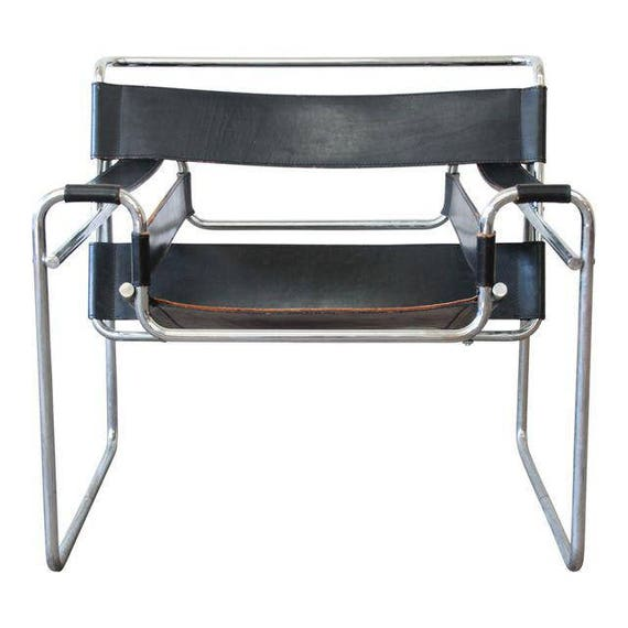 Wassily Sessel marcel breuer for stendig vintage wassily chair 4 available
