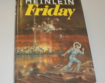 Robert Heinlein FRIDAY hard cover book